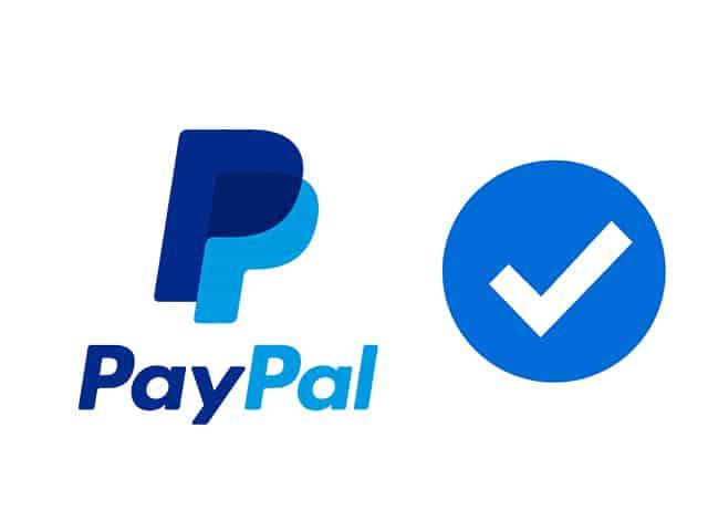 paypal no verificado